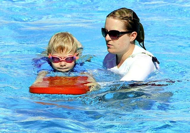 Otestujte si vodu v bazénu