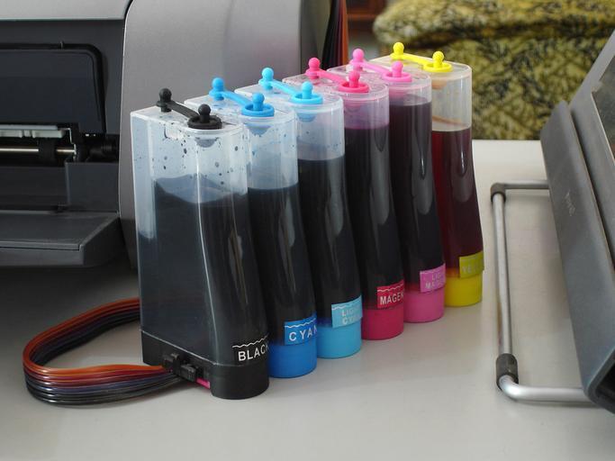 barvy do tiskárny