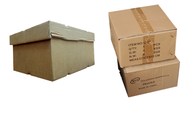 sbalené krabice